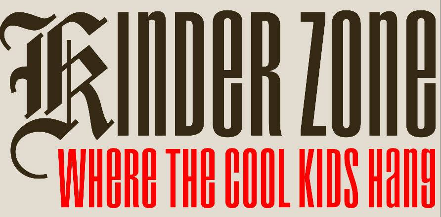 Kinder Zone Where the Cool Kids Hang featuring family activities